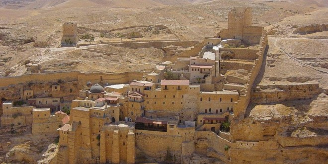 موقع دير مار سابا الأثري في بيت لحم
