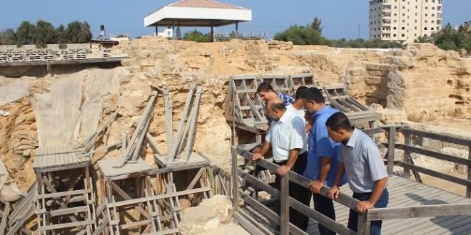 السياحة والآثار تستكمل مشروع تأهيل موقع تل أم عامر الأثري